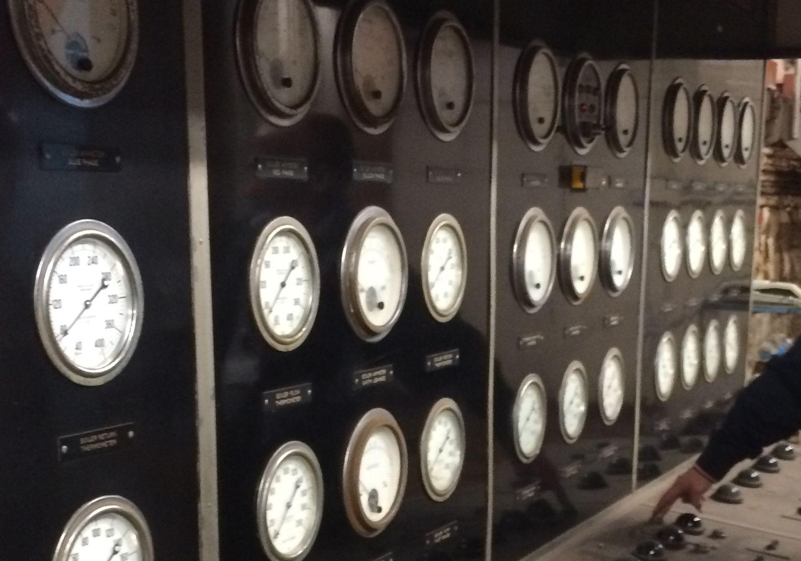 some dials from a secret location under London